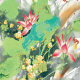 chinoiserie-wallpaper-chinese-style-lotus-floral-wallcovering-5.3-㎡-oriental-decor