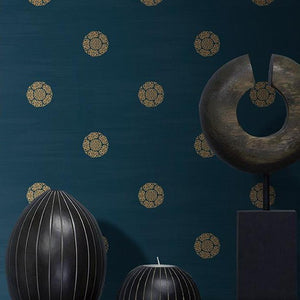 Chinoiserie-chic-chinese-style-wallpaper-oriental-wallcovering-blue