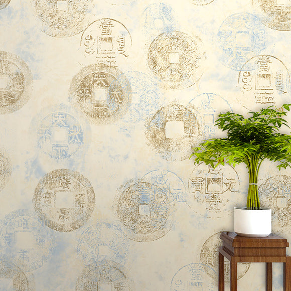 chinoiserie-wallpaper-chinese-style-coin-print-wallcovering-classic