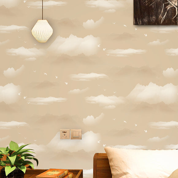 chinoiserie-wallpaper-chinese-style-clouds-mountain-wallcovering-5.3-㎡
