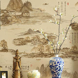 chinoiserie-wallpaper-chinese-style-ink-painting-effect-wallcovering-5.3-㎡