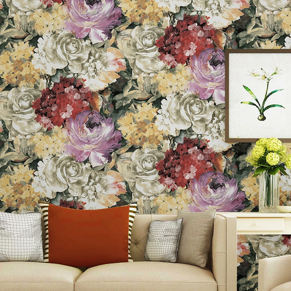 american-pastoral-romantic-big-flower-pattern-wallpaper-country-retro-living-room-bedroom-flower-non-woven-wall-paper-papier-peint