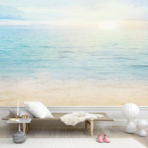custom-mural-wallpaper-papier-peint-papel-de-parede-wall-decor-ideas-for-bedroom-living-room-dining-room-wallcovering-Beautiful-sea-summer-or-spring-abstract-background-ocean-themed