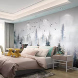 custom-large-3d-wallpaper-mural-hand-painted-nature-forest-cloud-bird-wallpaper-background-wall-painting-3d-wallpaper-papier-peint