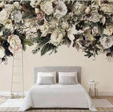 custom-wallpaper-3d-mural-modern-minimalist-nordic-vintage-flower-american-floral-background-wall-papers-home-decor-3d