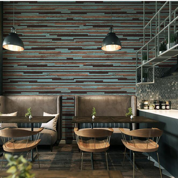 blue-brown-green-modern-dark-wood-horizontal-stripes-vinyl-wallpaper-roll-rustic-colored-wood-designed-wall-paper-for-backdrop