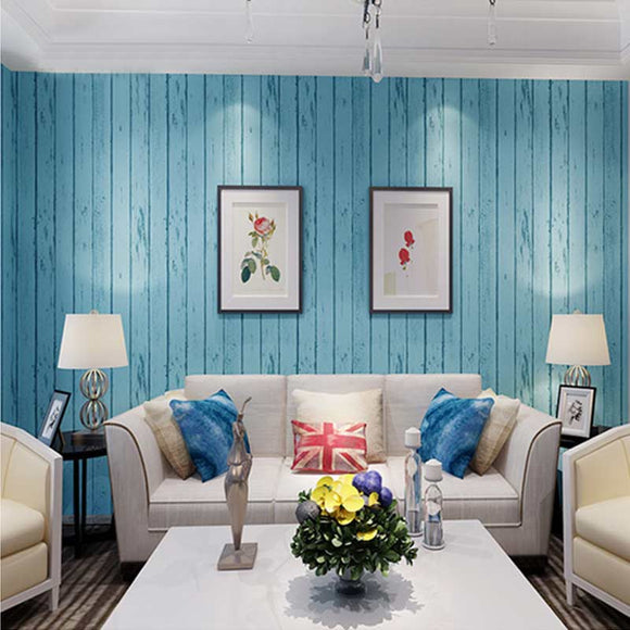 blue-white-wood-panel-wallpaper-natural-rustic-wallcovering