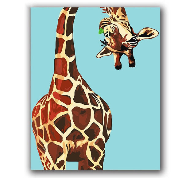 coloring-by-numbers-giraffe-eating-grass-animals-pictures-paintings-paints-with-colors-for-kids-3-pieces-home-decor