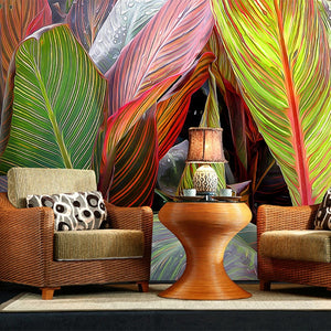 custom-3d-large-mural-bedroom-living-room-sofa-tv-wallpaper-hand-painted-tropical-rainforest-banana-leaf-non-woven-photo-mural