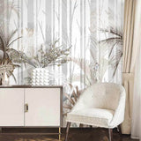 custom-mural-wallpaper-papier-peint-papel-de-parede-wall-decor-ideas-for-bedroom-living-room-dining-room-wallcovering-Hand-Painted-Forest-Tree-Plant-Palm-Leaves-Large-Wall-Painting