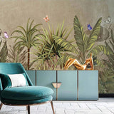 custom-mural-wallpaper-papier-peint-papel-de-parede-wall-decor-ideas-for-bedroom-living-room-dining-room-wallcovering-tropical-Plant-Banana-Leaf-rainforest-palm-tree