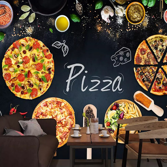 custom-3d-mural-wallpaper-wall-painting-personalized-pizza-shop-blackboard-photo-wall-paper-cafe-restaurant-backdrop-wall-decor-papier-peint