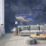 custom-3d-photo-wallpaper-decor-modern-fashion-watercolor-shark-constellation-creative-large-mural-for-children-room-bedroom-art