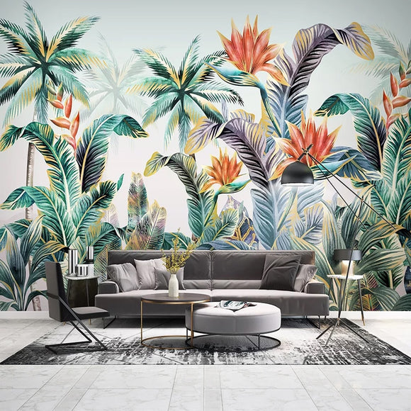 custom-mural-wallpaper-3d-living-room-bedroom-home-decor-wall-painting-papel-de-parede-papier-peint-nordic-tropical-plant-leaves