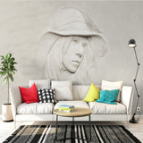 3D-creative-grey-beauty-girl-wallpaper