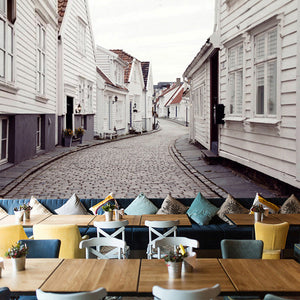 city-street-view-european-style-wallpaper-mural-wallcovering