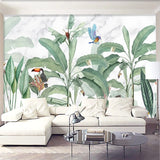 custom-3d-wall-mural-modern-rainforest-plant-leaf-forest-animal-wallpaper-living-room-restaurant-cafe-background-wall-painting-papier-peint
