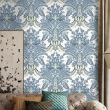 custom-mural-wallpaper-papier-peint-papel-de-parede-wall-decor-ideas-for-bedroom-living-room-dining-room-wallcovering-European-Style-Flower-Damascus-Pattern
