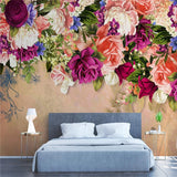 custom-mural-wallpaper-3d-living-room-bedroom-home-decor-wall-painting-papel-de-parede-papier-peint-retro-style-f;owers-roses