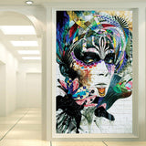 entrance-mural-hallway-corridor-beauty-graffiti