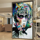 custom-any-size-wallpaper-entrance-mural-hallway-corridor-beauty-graffiti