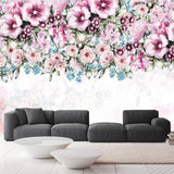 custom-mural-wallpaper-papier-peint-papel-de-parede-wall-decor-ideas-for-bedroom-living-room-dining-room-wallcovering-Modern-Oil-Painting-Pastoral-Flowers