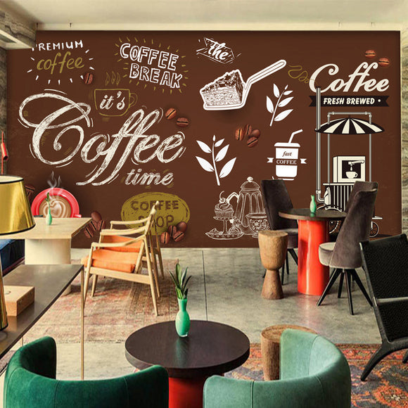 european-retro-wallpaper-vintage-backdrop-mural-wallcovering-cafe