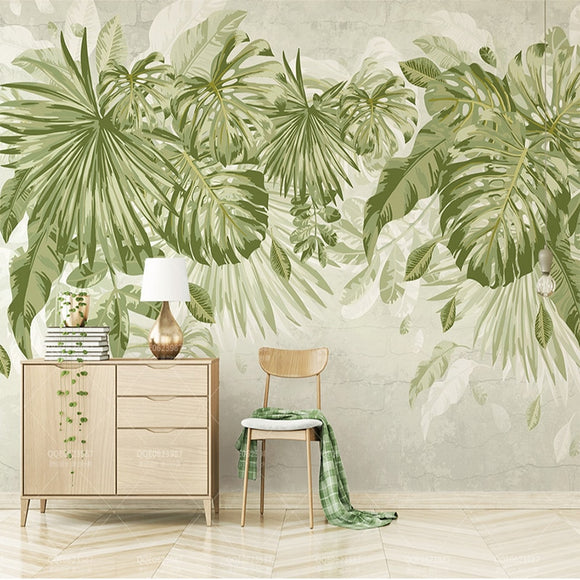 custom-any-size-jungle-watercolor-fresh-green-leaves-non-woven-mural-bedroom-living-room-sofa-tv-background-mural-3d-wall-paper