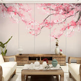custom-mural-wallpaper-papier-peint-papel-de-parede-wall-decor-ideas-for-bedroom-living-room-dining-room-wallcovering-Hand-Painted-Chinese-Style-Ink-Watercolor-Cherry-Blossoms-Tree