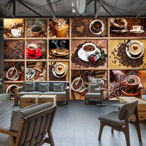 custom-mural-papel-de-parede-coffee-beans-coffee-cup-3d-photo-wallpaper-cafe-restaurant-living-room-kitchen-decorative-wallpaper