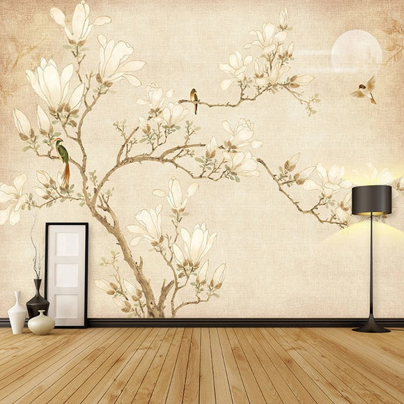 custom-mural-wallpaper-3d-chinese-style-hand-drawn-vintage-magnolia-tree-flower-fresco-living-room-tv-bedroom-papel-de-parede-3d-chinoiserie-wall-covering-papier-peint