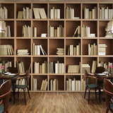 bookshelf-bookcase-library-wallpaper-vintage-retro-mural