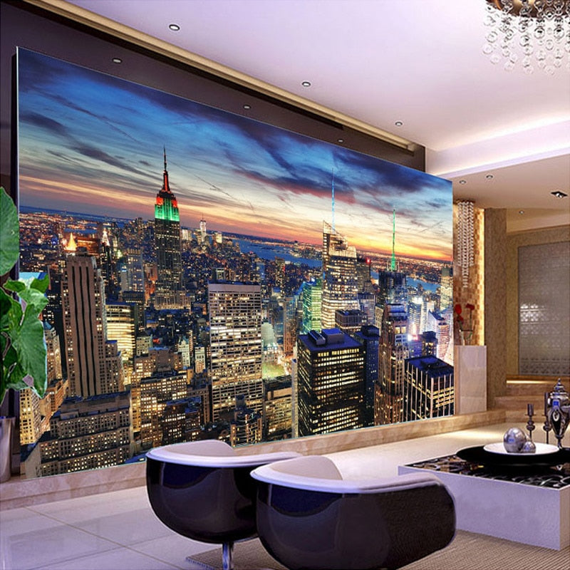 Custom Mural Wallpaper New York City Cityscape