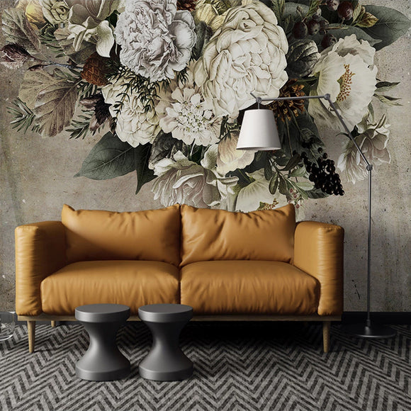 custom-mural-wallpaper-papier-peint-european-style-retro-floral-flower-art-wall-painting-living-room-bedroom-background-home-decor-wall-paper