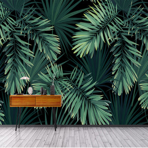 custom-mural-wallpaper-european-vintage-hand-painted-rainforest-plantain-leaf-3d-wallpaper-living-room-sofa-background-decor