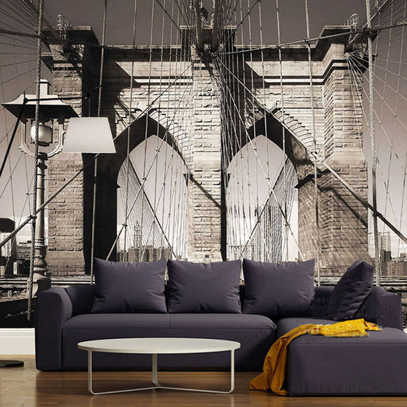 custom-wall-mural-wallcovering-nostalgic-vintage-wallpaper-suspension-bridge