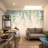 custom-mural-wallpaper-papier-peint-papel-de-parede-wall-decor-ideas-for-bedroom-living-room-dining-room-wallcovering-fresh-green-leaves