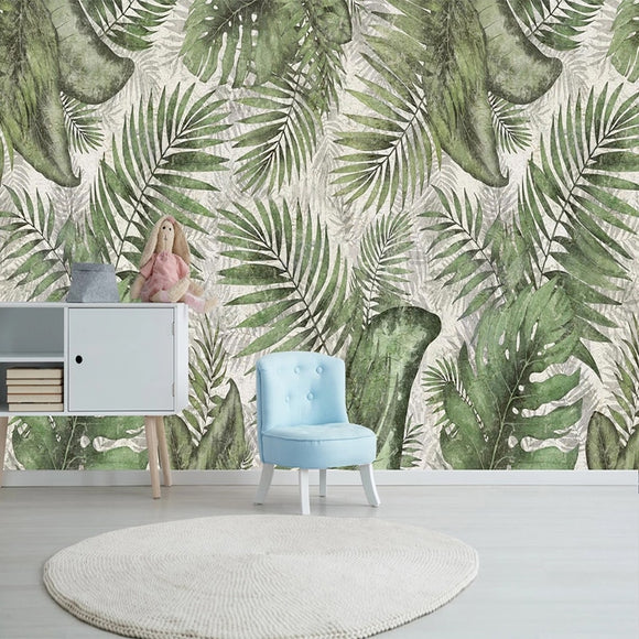 custom-photo-mural-retro-tropical-green-leaves-living-room-dining-room-bedroom-tv-background-wall-painting-wallpaper-for-walls-papier-peint