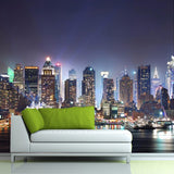 city-buildings-wallpaper--night-view-new-york