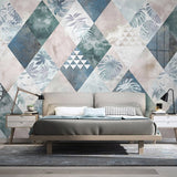 custom-wallpaper-mural-photo-nordic-modern-minimalist-plant-leaves-geometric-tv-background-wall-painting-living-room-bedroom-mural-decor-paper-papier-peint
