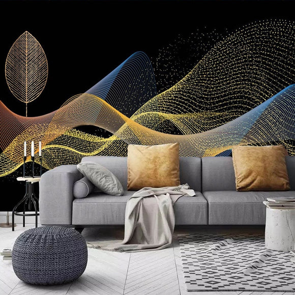 custom-photo-wall-paper-3d-golden-leaves-abstract-smoke-wall-painting-creative-hotel-bedroom-bedside-living-room-mural-wallpaper-papier-peint