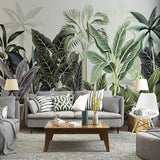 custom-mural-wallpaper-papier-peint-papel-de-parede-wall-decor-ideas-for-bedroom-living-room-dining-room-wallcovering-tropical-Plant-Banana-Leaf