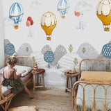 custom-photo-wallpaper-for-walls-3d-hand-painted-kids-room-hot-air-balloon-mountain-peak-girl-bedroom-cartoon-mural-wall-decor-nursery-papier-peint