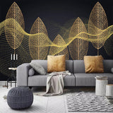 custom-photo-wallpaper-mural-modern-bedroom-living-room-3d-creative-golden-leaves-abstract-lines-background-wall-painting-canvas-papier-peint