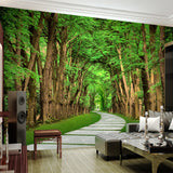 custom-photo-wallpaper-trees-forest-stone-road-3d-visual-art-photography-background-wall-painting-living-room-sofa-bedroom-mural