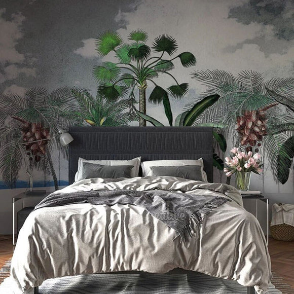 custom-mural-wallpaper-papier-peint-papel-de-parede-wall-decor-ideas-for-bedroom-living-room-dining-room-wallcovering-tropical-Plant-Coconut-Tree
