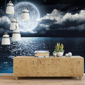 custom-mural-wallpaper-papier-peint-papel-de-parede-wall-decor-ideas-for-bedroom-living-room-dining-room-wallcovering-Self-Adhesive-Starry-Sky-Moon-Sea-Night-View