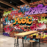 custom-wall-mural-wallcovering-faux-brick-stone-wallpaper-graffiti