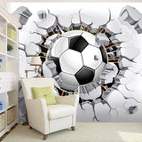 custom-any-size-wall-mural-Creative-Wallpaper-Soccer-Sport-3D