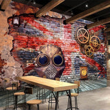 custom-wall-mural-wallcovering-Creative-Wallpaper-european-nostalgic-graffiti